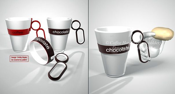 Take off Handle For Disposable Cups by Dmitry Boyko