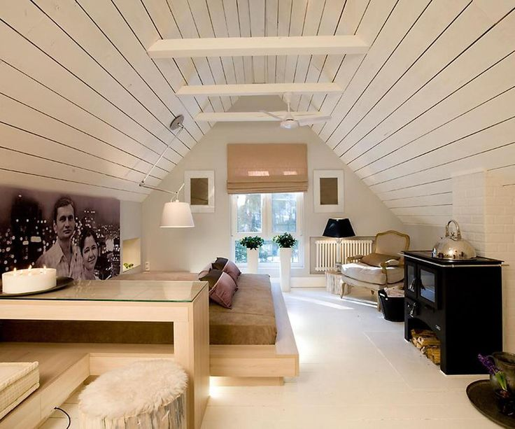 gallery of cozy small attic bedroom design and decorating ideas 36 of 40 - Ideas For Attic Bedrooms