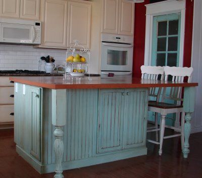 beadboard kitchen cabinets. can be done in a small kitchen like mine  subway backsplash love the colors Best 25 Bead board cabinets ideas on Pinterest Country