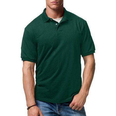 Hanes Men's Comfortblend EcoSmart Jersey Polo