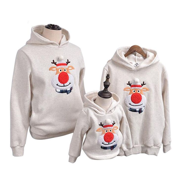 "Like and Share if you want this  Polar Fleece Warm Christmas Family Matching Hooded Clothing     Tag a friend who would love this!     FREE Shipping Worldwide.     SAVE Big! Enjoy additional 10% OFF on every purchase for all items! Use the promo code ""XMAS17"" upon checkout.     Buy one here---> https://hisandhertrove.com/family-clothing-2017-winter-sweater-christmas-deer-clothing-polar-fleece-warm-dad-son-hoodies-matching-mother-daughter-clothes/"