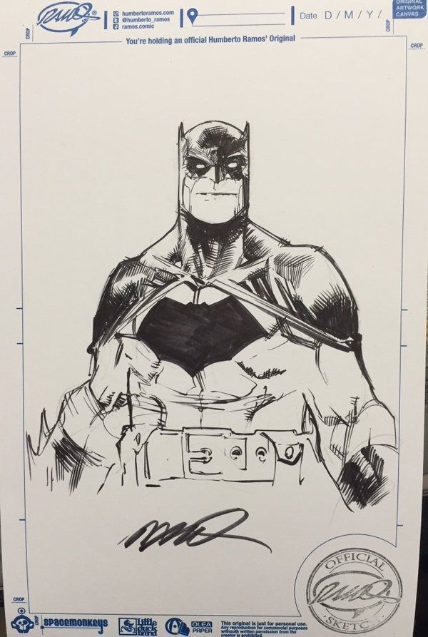 Batman by Humberto Ramos                                                                                                                                                     More