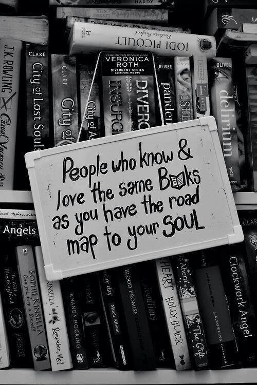 A quote about books