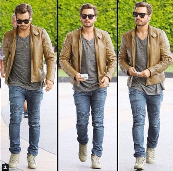 Scott disick style | Kourtney Kardashian | Pinterest | The ...