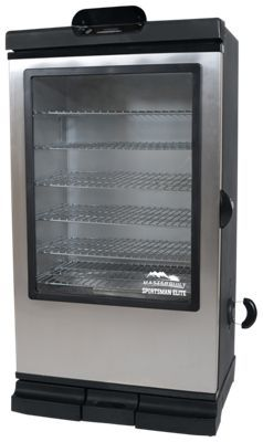 Masterbuilt Sportsman Elite 40'' Bluetooth Smart Digital Electric Smoker with Viewing Window