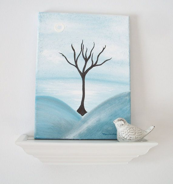 Zen Art 9 X 12 Canvas Painting Freedom In by ScottAndJesselynn, $40.00