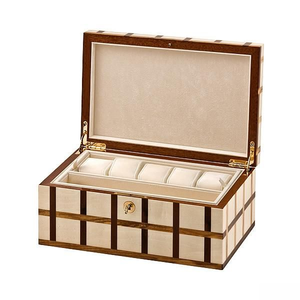 Watch Box in White Glamour