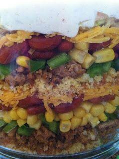 Attainable Cuisine: Mexican Cornbread Salad