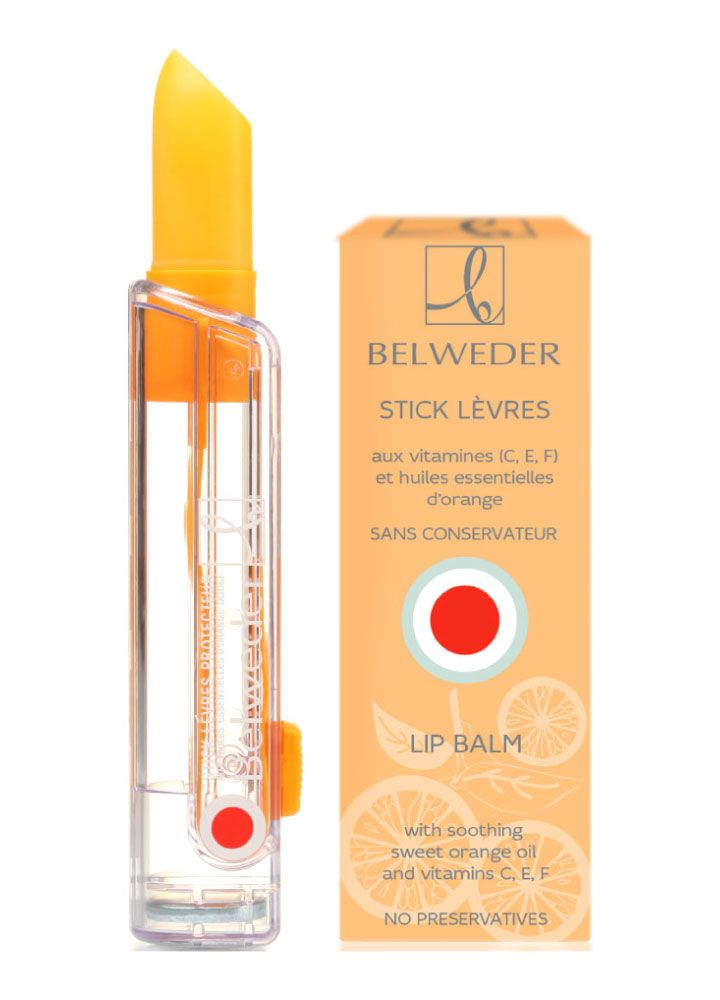 Vitamin (C,E,F) lip balm with sweet orange oil Belweder