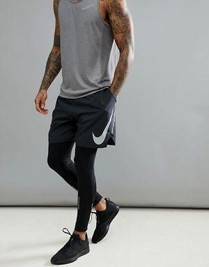 43a1c63f Nike Running Flex Distance Flash Reflective 7 Inch Shorts In Black  899498-010