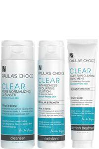 CLEAR Regular Strength Acne Kit #GotItFree #ClearItUp @Paula's Choice
