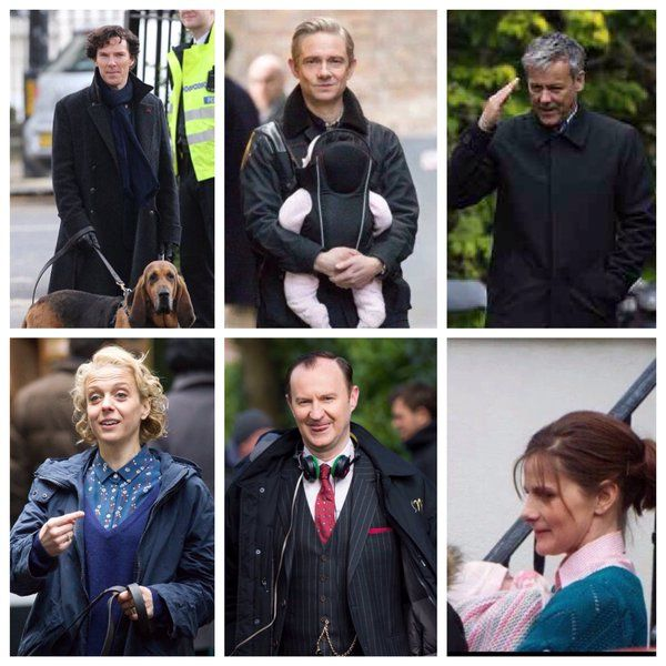 #setlock SEASON 4!!!!  - Oh goodness, Molly's holding the baby!!! <3