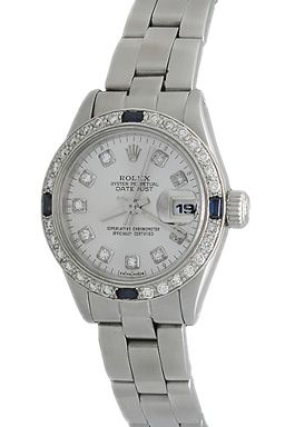 Ladies Rolex Datejust - Automatic Winding Wrist Watch