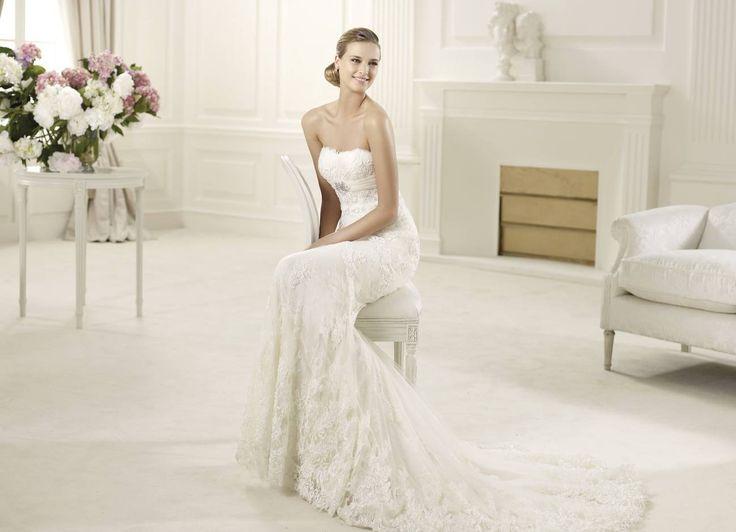 Dietrich - Pronovias 2015 kollekció - Esküvői ruha szalon - Menyasszonyi ruha kölcsönzés http://lamariee.hu/eskuvoi-ruha/pronovias/dietrich