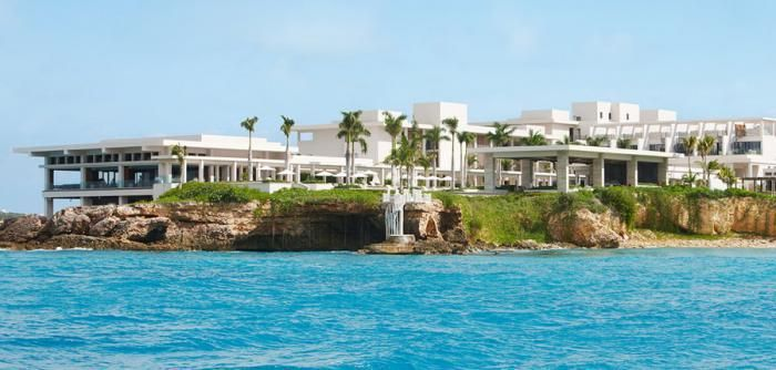 We had to include the Caribbean, and there's no better place to start than Anguilla. This pristine resort comes complete with turquoise waters amazing coral reefs, and white sand beaches. Did I mention they have an 8,000-square-foot spa that overlooks the ocean? The hotel is absolutely stunning, and the views are second to none.