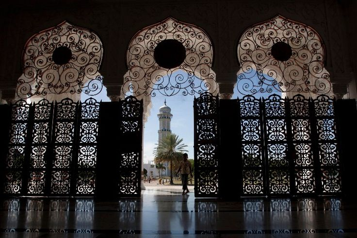 Grand Mosque in Banda Aceh, Indonesia