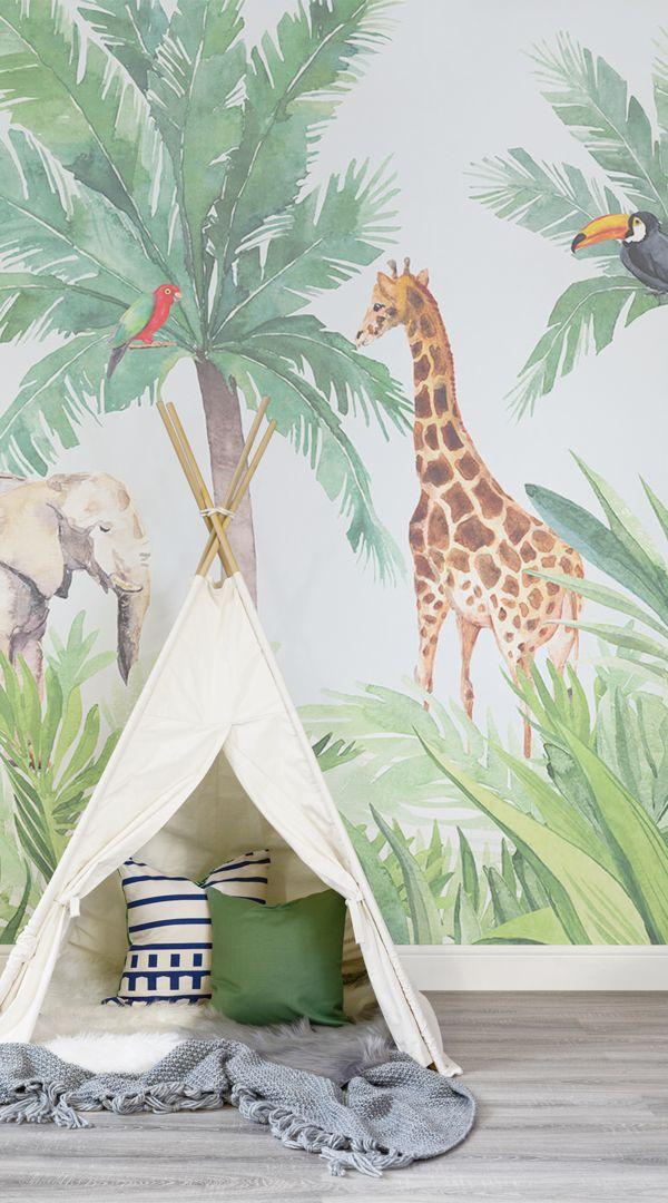 Watercolor Animal Wallpaper Cute