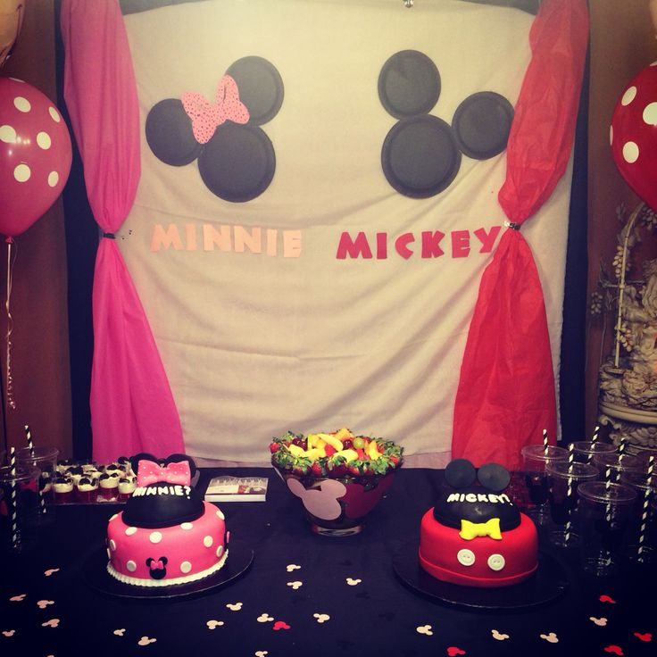 Will it be mickey or minnie ?? Disney gender reveal party