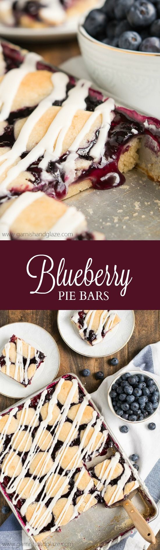 Craving pie but not all the work that comes with it? Make these easy Blueberry Pie Bars that no one will be able to resist.