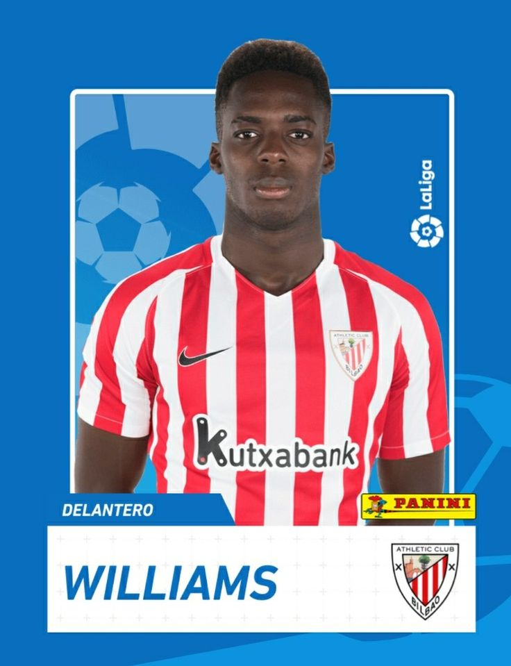 Iñaki Williams  Colección 2017-18 Supergolazo Pannini