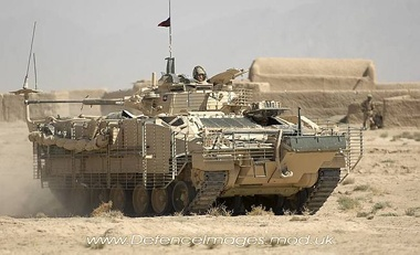 The Warrior Infantry Fighting Vehicle has the speed and performance to keep up with Challenger 2 Main Battle Tanks over the most difficult terrain, and the firepower and armour to support infantry in the assault.