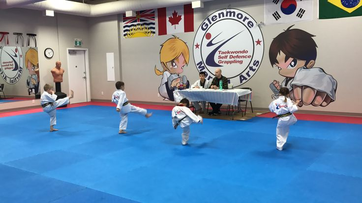 Pre Stripe Testing today! Last day for Kids class and Adults class to gain there next stripe. #glenmoremartialarts #test #promotion #belt #grading
