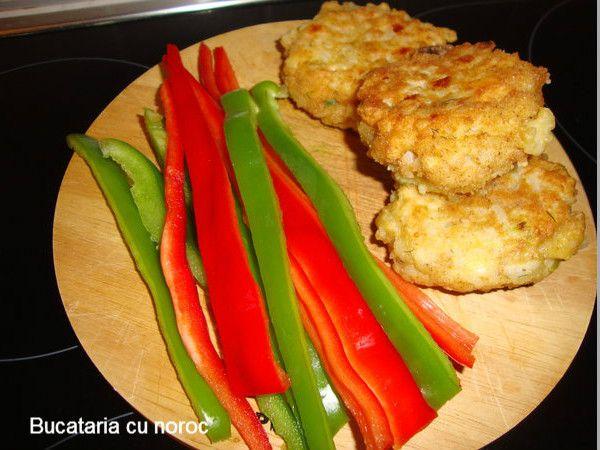 Crochete de orez si branza - Bucataria cu noroc