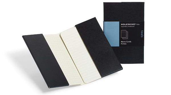 """Moleskine » Каталог » Folio » Folio Tools » Карточки для заметок """"Folio"""", Moleskine, Pocket"""