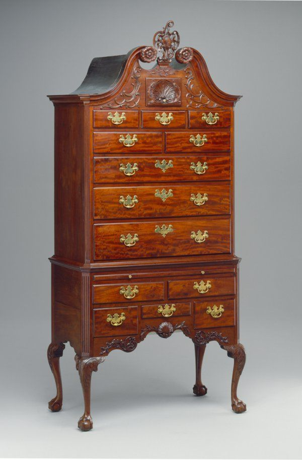 High Chest, Philadelphia, 1750u201365   Art U0026 Antiques. Wardrobe CabinetsEarly  AmericanQueen ...