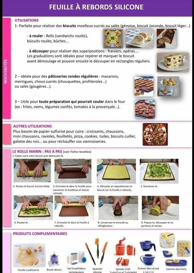 Tupperware - Feuille silicone