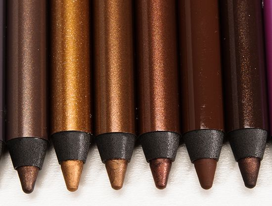I have two of the 24/7 glide-on eye pencils, and I am obsessed: super pigmented and so so creamy.  Even though I'm not too adventurous with eyeliner, Urban Decay relaunching the line makes me want to buy more colors!