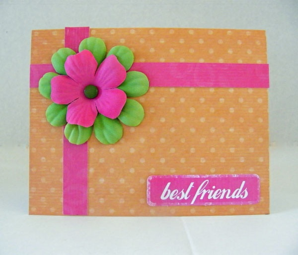 Art And Craft Ideas For Card Making Part - 28: Love This Idea