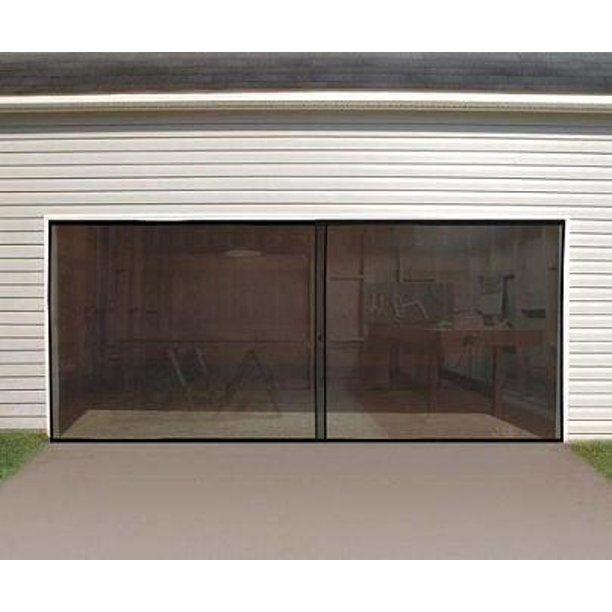 Bug Screen For Double Sized Garage Door Walmart Com In 2020 Garage Screen Door Double Garage Door Garage Doors