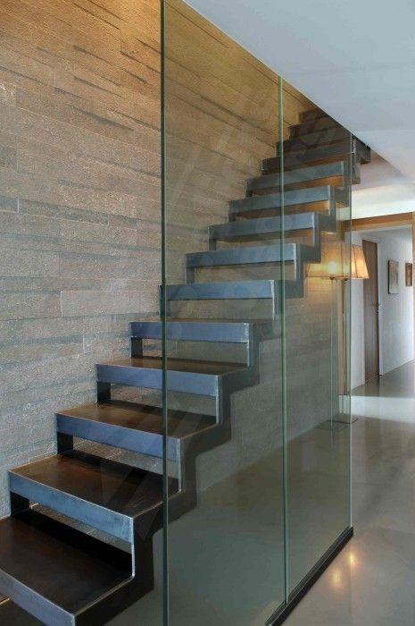 Escalier En Metal Et Verriere Escalier Metal Ferronnerie