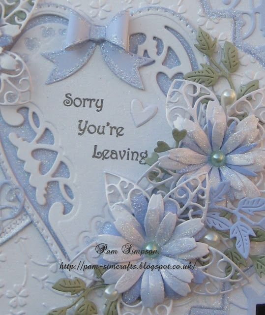 Sorry You`re  Leaving.