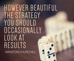 Winston Churchill strategy quote