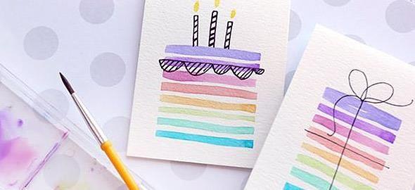 Πώς να φτιάξετε με το παιδί τις πιο όμορφες κάρτες γενεθλίων