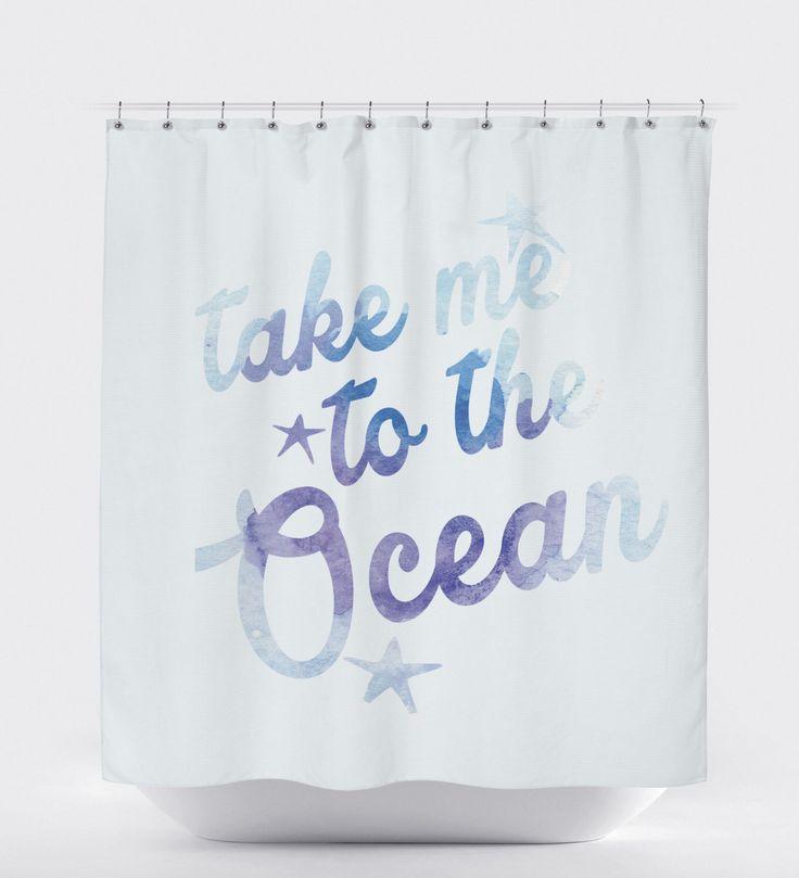 Shower Curtain Ocean, Aqua Shower Curtain, Bathroom Decor Beach, Shower Curtain Art,Ocean Bathroom Decor, Bathroom Art Decor, Shower Curtain by HawkerPeddler on Etsy https://www.etsy.com/listing/244148942/shower-curtain-ocean-aqua-shower-curtain