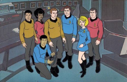 Star Trek: The Animated Series originally ran for 22 episodes...