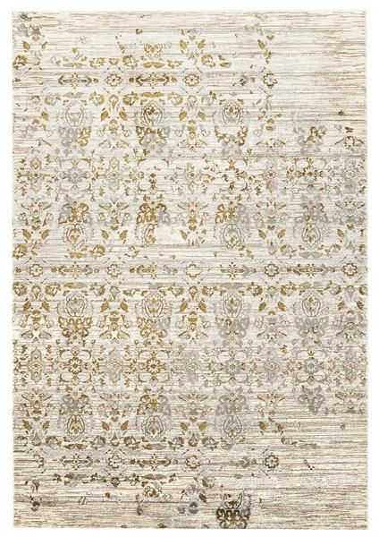 We love the gold tones running through this beautiful new traditional patterned rug to our range: Lisala 459 Gold Grey Beige Traditional Vintage Patterned Rug
