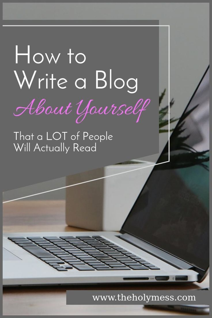 Are you considering starting a blog or your blog traffic isn't great? 5 Tips for how to write a blog about yourself that a lot of people will actually read.