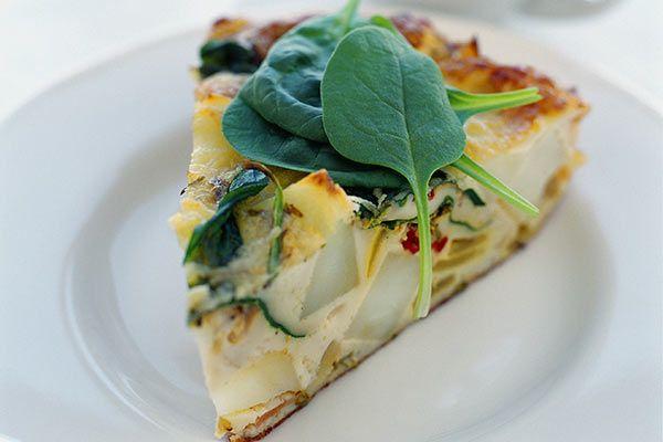 Oven-baked vegetable frittata – Recipes – Bite