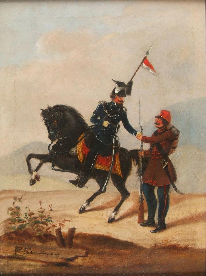 Polak Wegier dwa bratanki... ( private collection ) oil on canvas