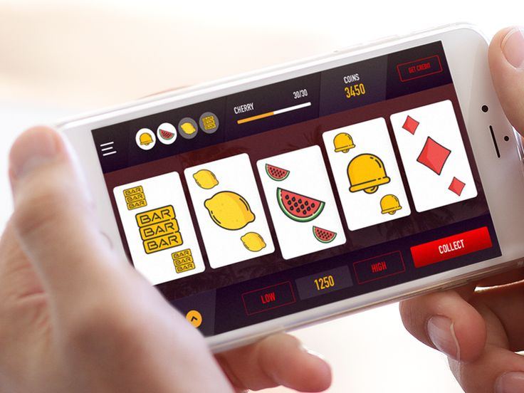 Fruit Poker Mobile Game by Gergely Bakos