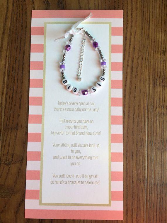 Big sister bracelet-big sister gift-big sister by Celebracelets