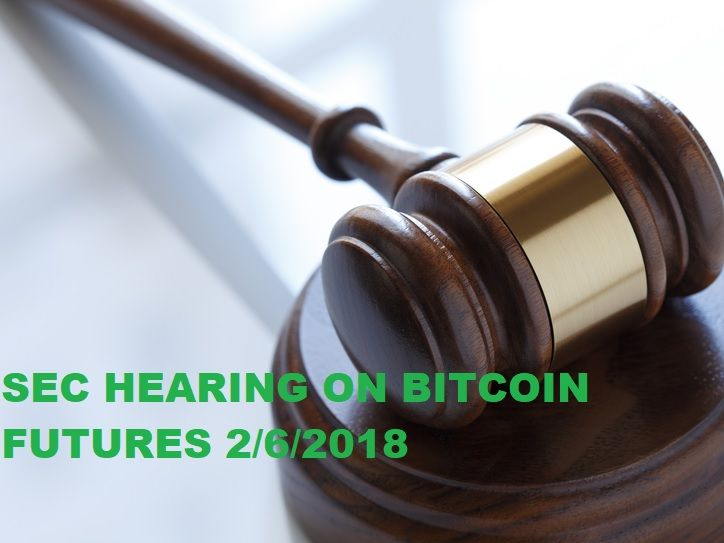 Tomorrow is an important day for Bitcoin Futures contracts. The SEC is going to be testifying whether or not self-certification is a good idea for exchanges wanting to trade XBT Futures.  It's a good idea to have your portfolio handy so you can trade before the outcome is announced. Price could dump or pump!