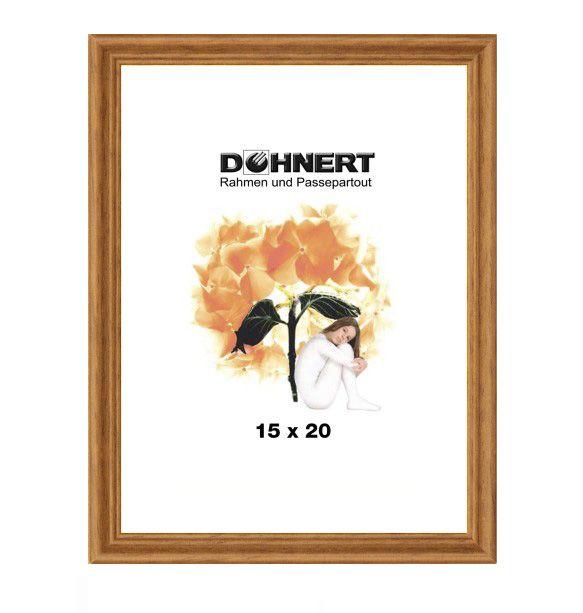 Doehnert houten lijst Barkingside 40x60 cm - eik - anti-reflexglas | Alleslijsten.nl