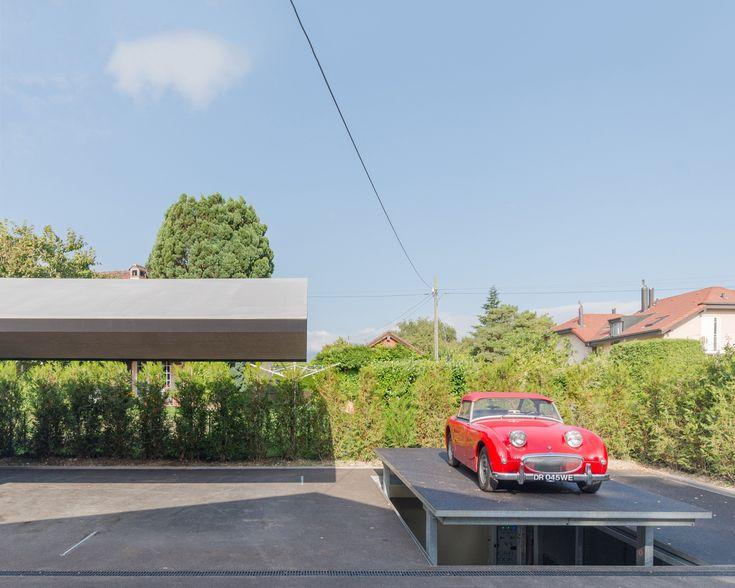 Gallery of Underground Carport and Car Display / b29 architectes - 1