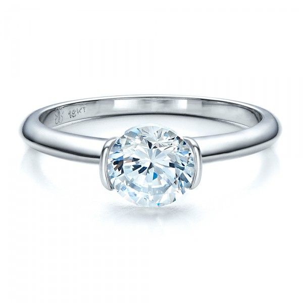 17 Best Ideas About Bezel Set Engagement Rings On