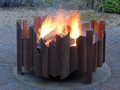 These fire pits are designed to last a lifetime, made from at least 5mm steel, they are the thickest on the market!